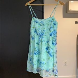 Abercrombie & Fitch floral minister dress